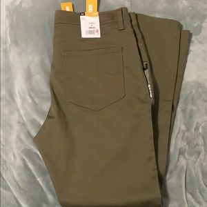 Women's Lee Olive Skinny Pants Size 16